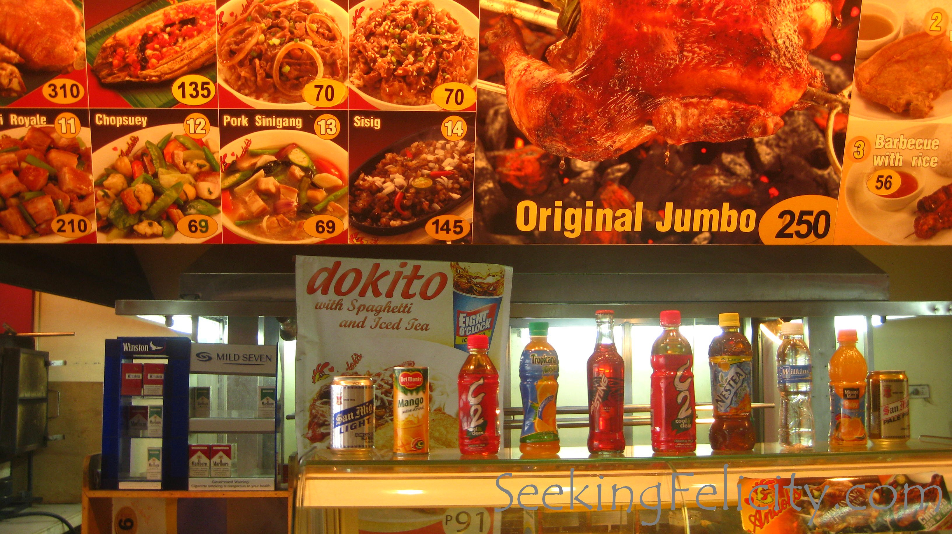 andoks about us Grilled chicken half by andoks to experience our buffet and combo meals please visit us at andoks.