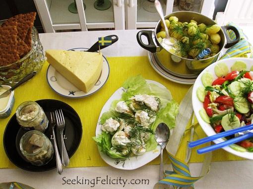 Traditional Swedish foods :)