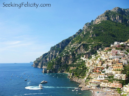 Breath taking view of Positano ♥