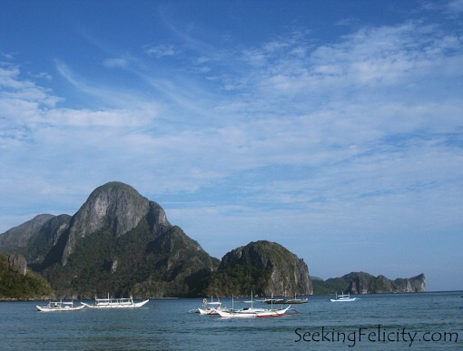 El Nido's lovely islands