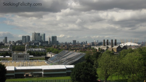 London skyline by day