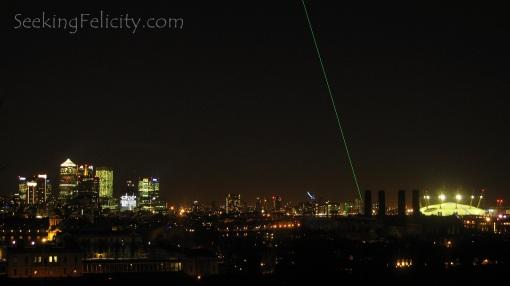 London skyline as seen from Greenwich