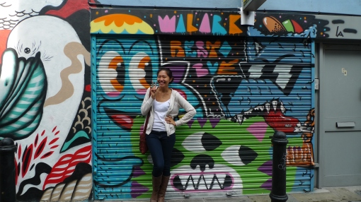 Colourful and vibrant East London!