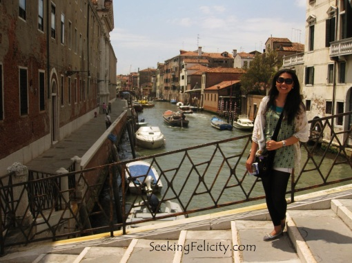 First time in Italy. First time to visit Venice. :)