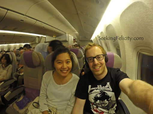 Happy to head back home but sad to leave Japan - we'll definitely come back! :D